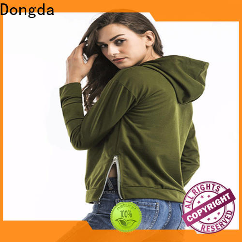 Wholesale ladies sweatshirts single color supply for international market
