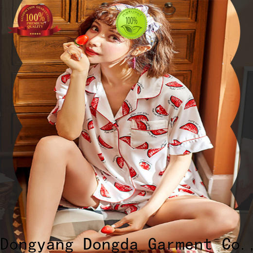 Dongda sweet female pajamas for business for ladies