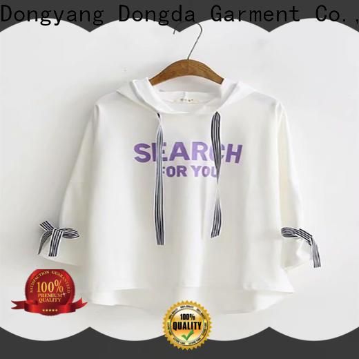 Dongda Wholesale female hoodies factory for international market