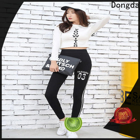 Dongda New womens workout tights supply for pear shaped