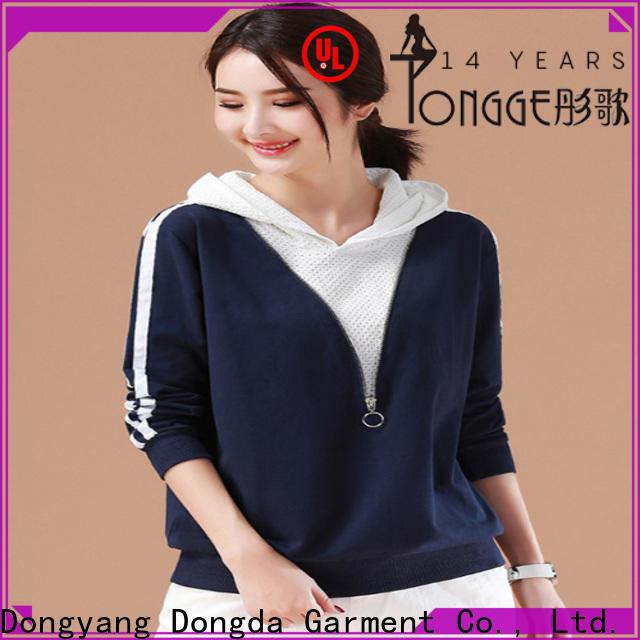 Latest ladies sweatshirts hoodies suppliers for international market