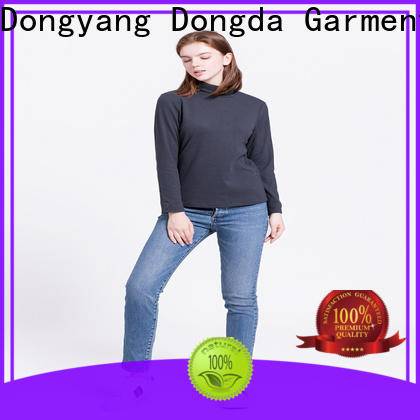 Dongda short ladies hoodies suppliers for international market
