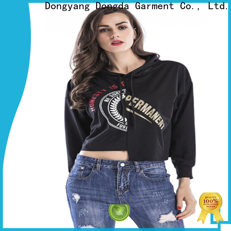 Dongda hooded ladies sweatshirts company for international market