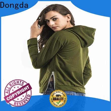 Dongda plaited ladies sweatshirts company for ladies