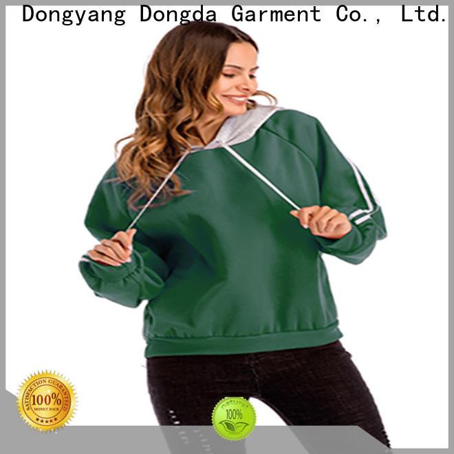 Dongda print ladies sweatshirts manufacturers for international market