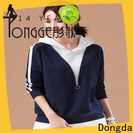 Dongda hooded graphic sweatshirts suppliers for international market