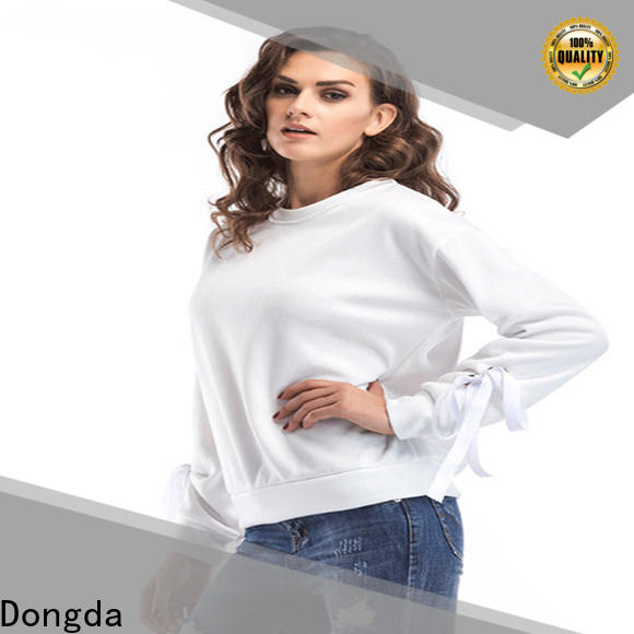 Dongda oversize ladies sweatshirts manufacturers for women