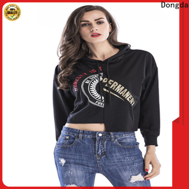 Dongda High-quality female hoodies for sale for women