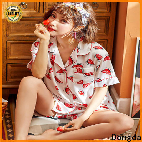 Dongda half sleeve home clothes for sale for ladies