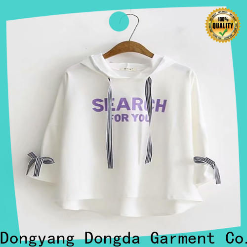 Dongda Latest graphic sweatshirts manufacturers for ladies