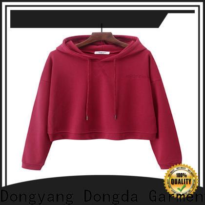 Dongda oversize graphic sweatshirts manufacturers for ladies