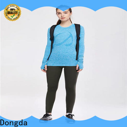 Dongda black activewear pants factory for pear shaped