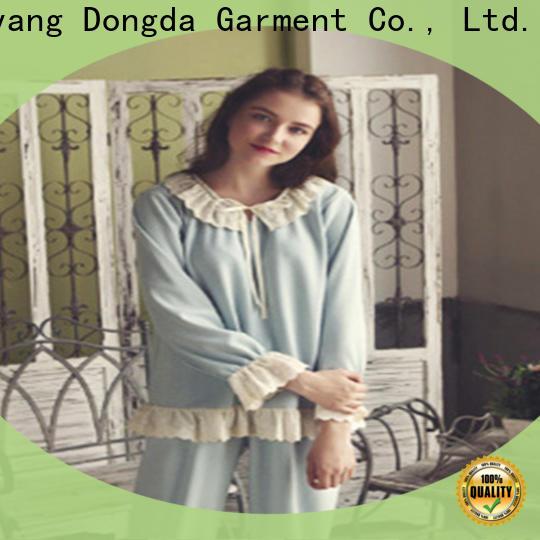 Custom pajama dress cotton supply for women