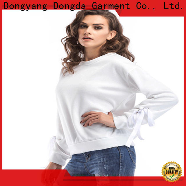 Dongda Custom graphic sweatshirts for business for women
