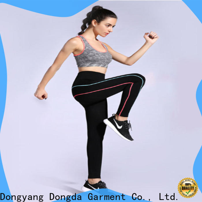 Dongda New ladies workout leggings for sale for sweating