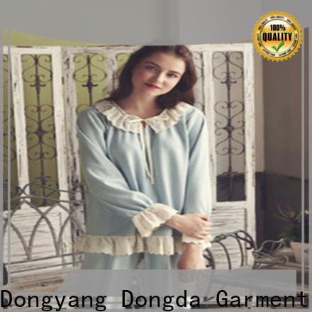 Wholesale sleepwear sets imitated fabric for sale for ladies