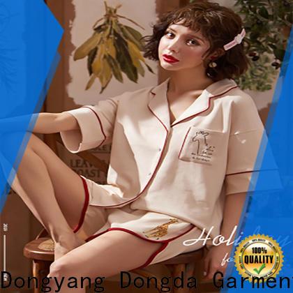 Dongda bamboo womans pyjamas company for sale