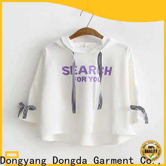 Dongda Best female hoodies for business for international market