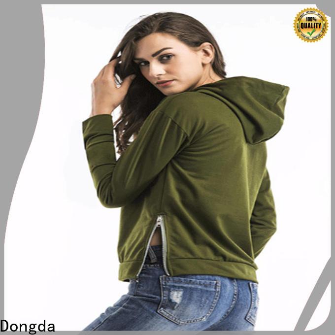 Dongda print ladies hoodies company for international market