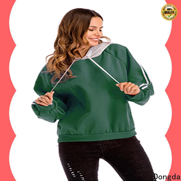 Dongda hooded female hoodies company for women
