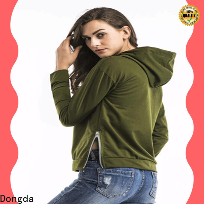 Dongda High-quality ladies hoodies manufacturers for women