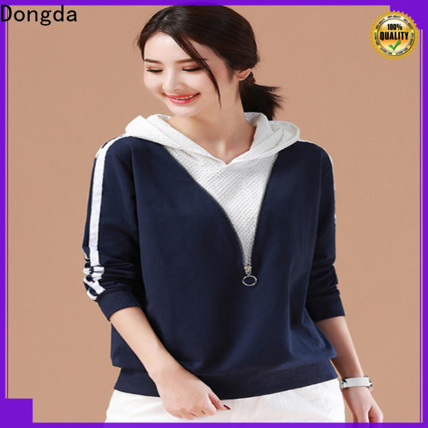 Dongda Best ladies sweatshirts manufacturers for ladies