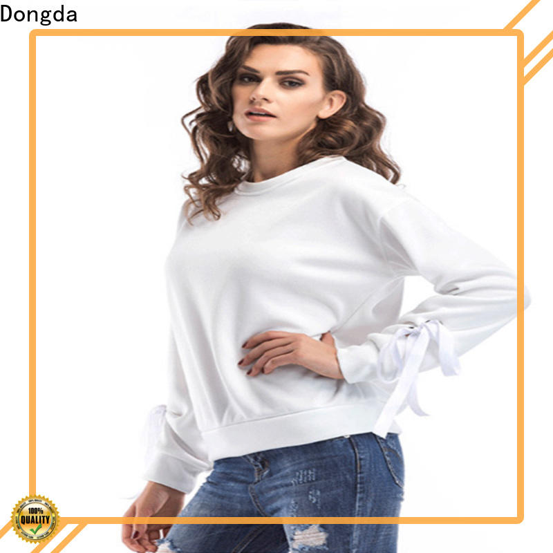 Dongda female womens sweatshirts company for ladies