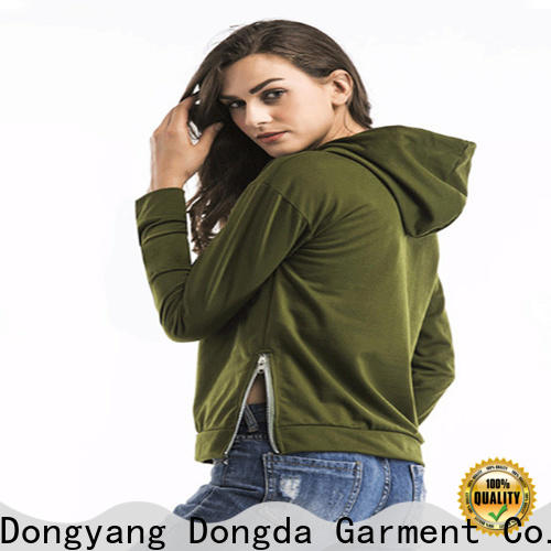 Dongda mixed female hoodies suppliers for international market