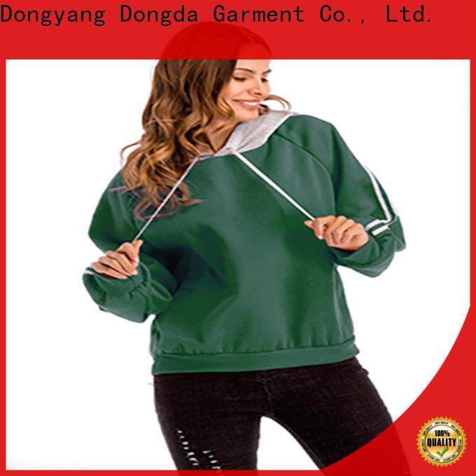 Dongda High-quality female hoodies company for international market
