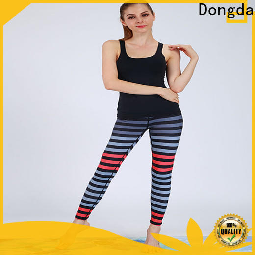Dongda exercise ladies workout pants for sale for sweating