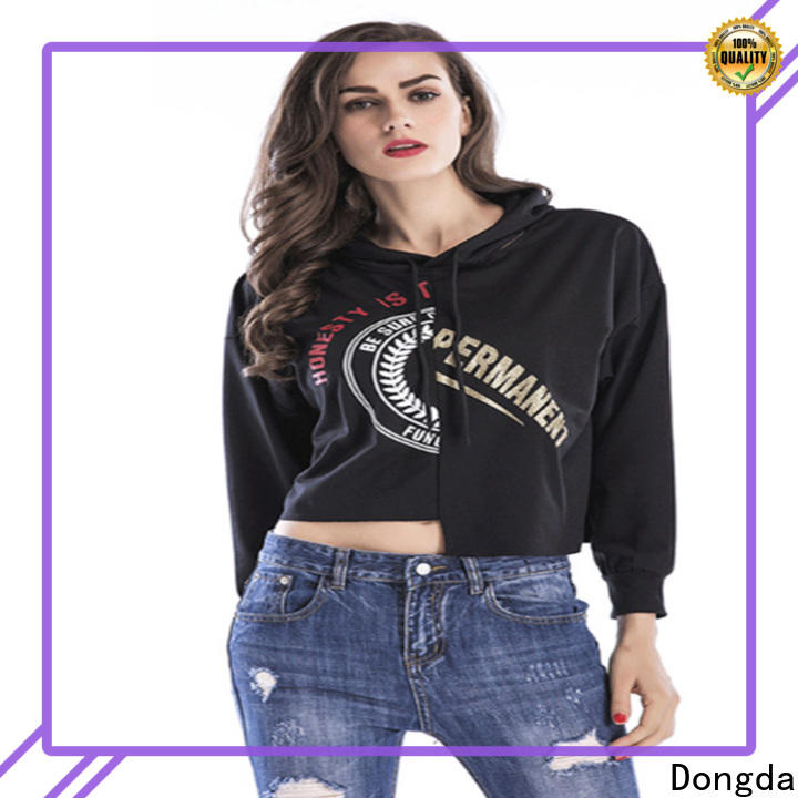 Top ladies hoodies hooded factory for ladies