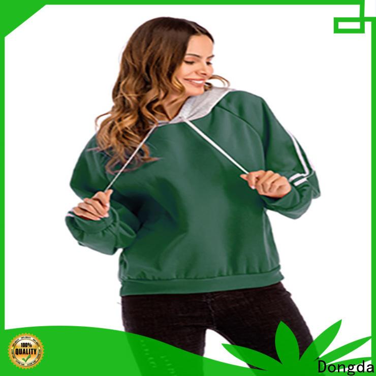 Dongda plaited ladies sweatshirts suppliers for ladies