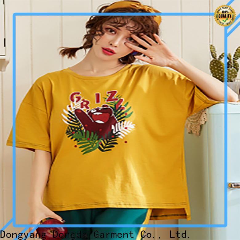 Dongda long sleeved sleepwear sets factory for ladies
