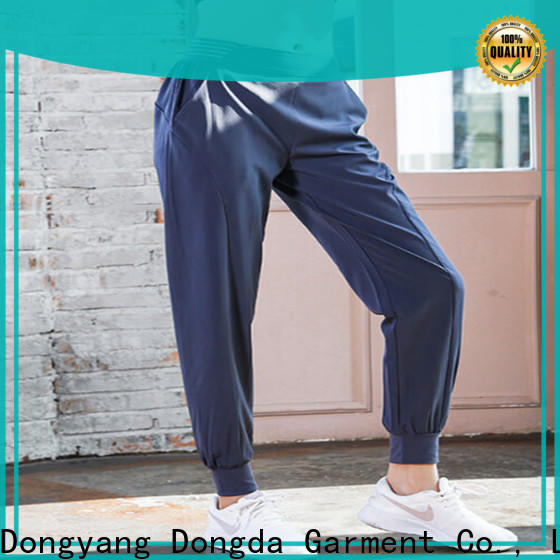 Dongda oversized gym pants for business for pear shaped
