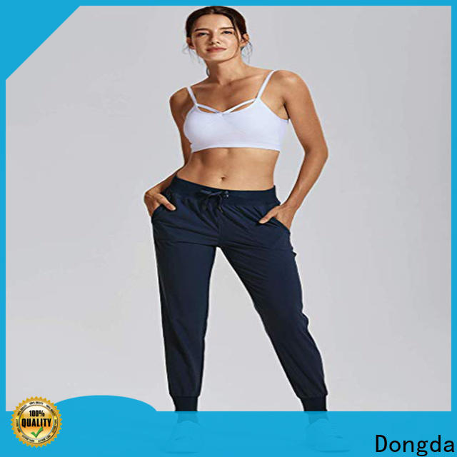 Dongda Best ladies workout pants for sale for sweating