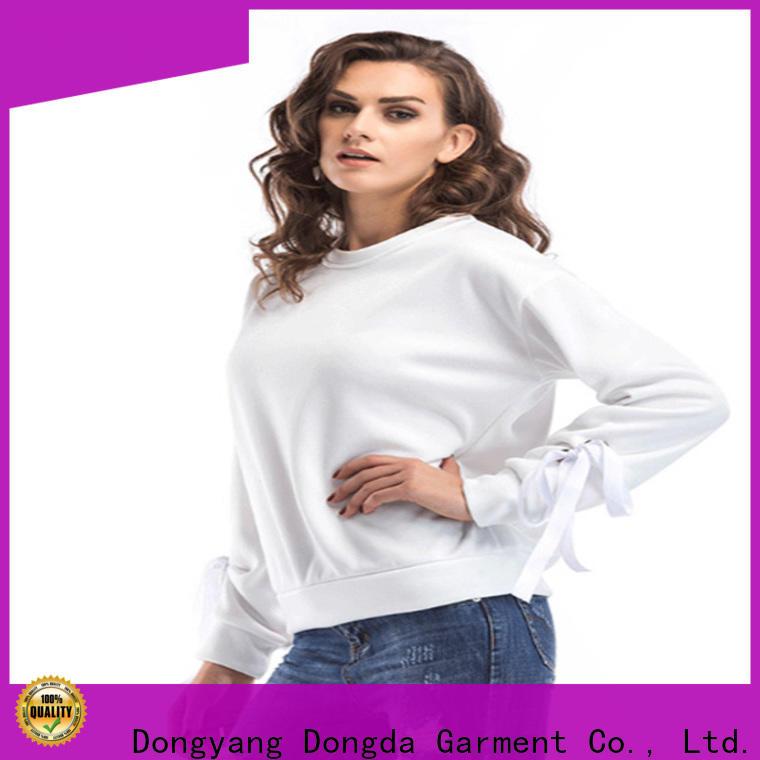 Dongda oversized female hoodies supply for international market