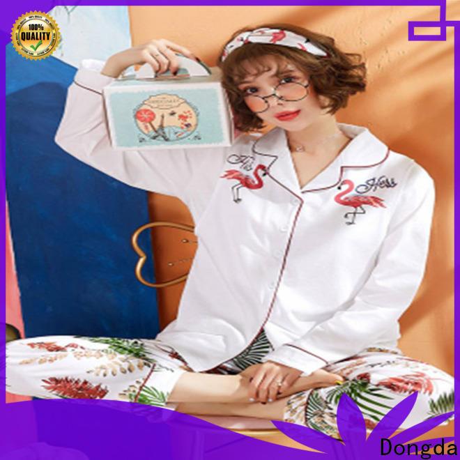 Dongda lowcut ladies sleepwear manufacturers for ladies