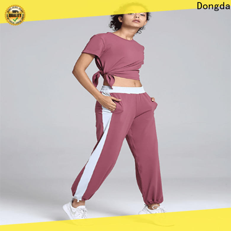 Dongda draw string womens fitness pants manufacturers for pear shaped