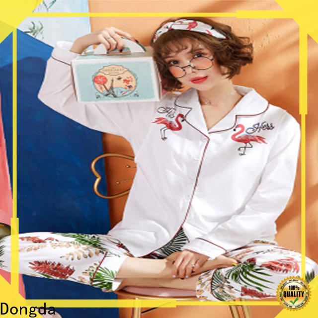 Dongda Best sleepwear sets manufacturers for women