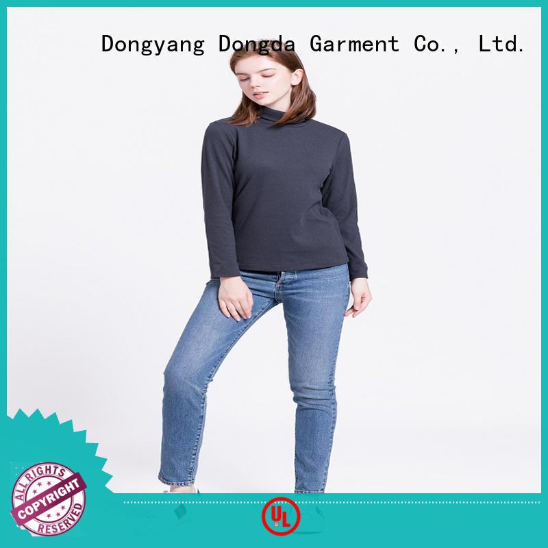 Dongda female ladies sweatshirts suppliers for ladies
