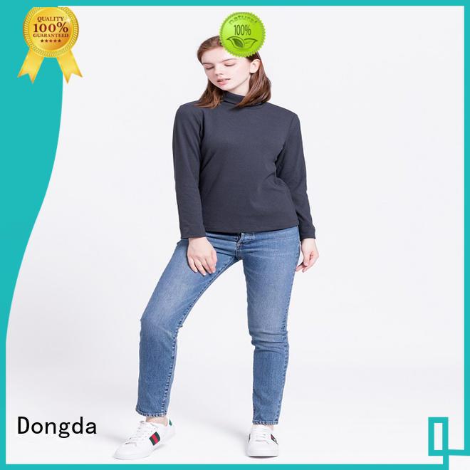 Dongda single color ladies sweatshirts manufacturers for international market