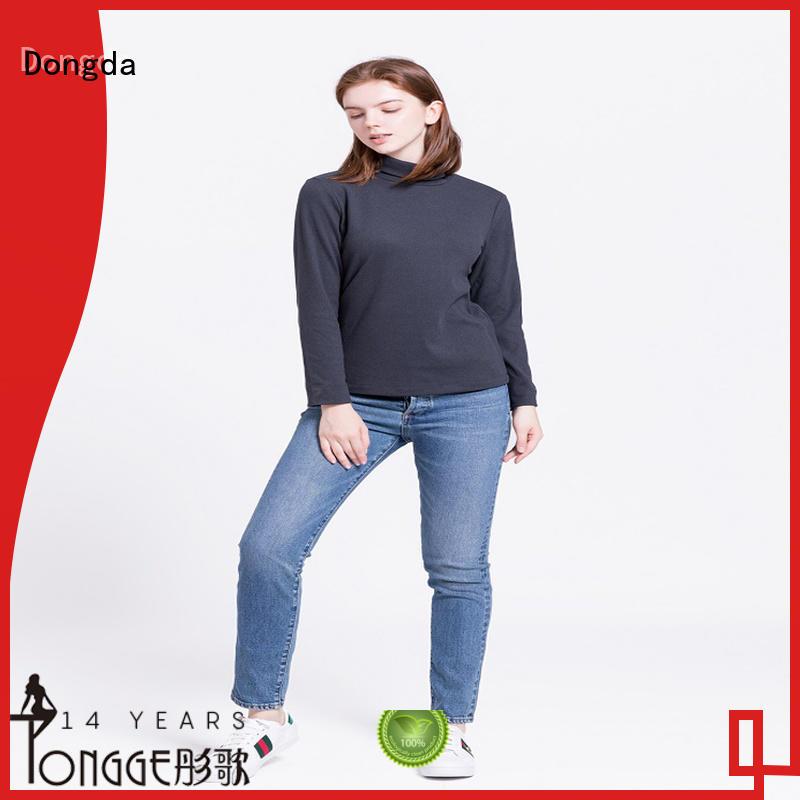 Dongda design ladies sweatshirts supply for international market