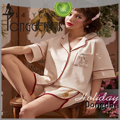 Dongda Top women's sleepwear sets manufacturers for ladies