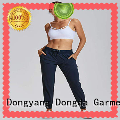 Dongda Latest ladies workout pants suppliers for summer