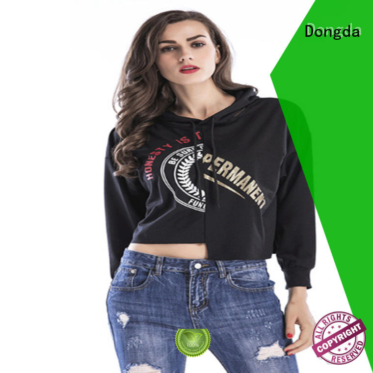 Dongda female womens sweatshirts supply for international market