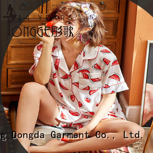 Dongda factory price pyjama wholesale suppliers sweet for women