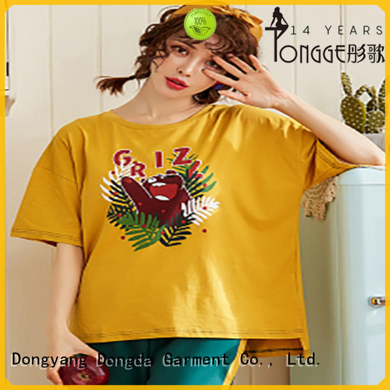 Dongda Custom women's sleepwear sets factory for sale