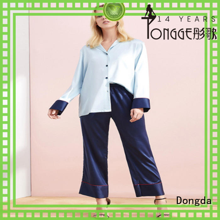 Dongda bamboo ladies pjs factory for sale