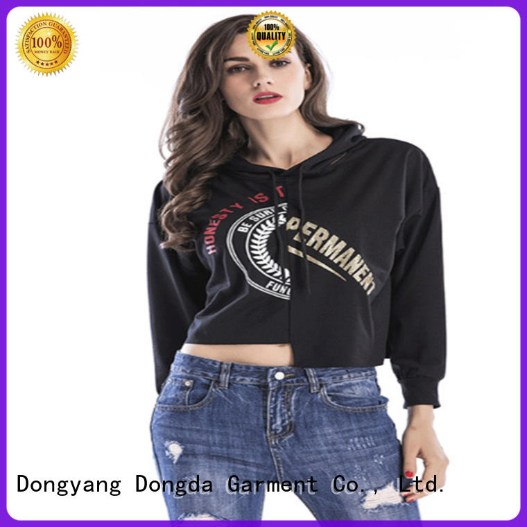 Wholesale female hoodies personality supply for women