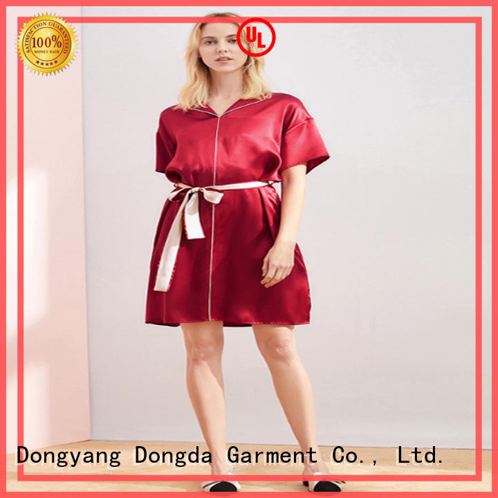 Dongda v-neck pajama dress for sale for women